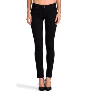 Paige Denim Skyline Skinny Black Jeans